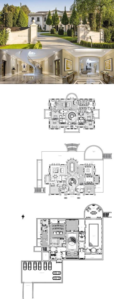 27 Million Newly Built Mansion In Surrey England Floor Plans Homes Of The Rich House Plans Mansion Luxury Floor Plans Mansion Floor Plan