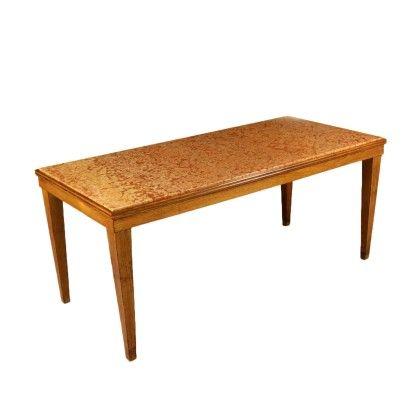 Tavolo Anni 40 50 Tavolo Tavoli Piano In Marmo