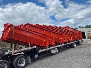 54 Inch Hook Style Dumpsters Being Delivered To Caputo Carting Inc East Hampton New York Cedar Manufactu In 2020 East Hampton New York East Hampton The Hamptons