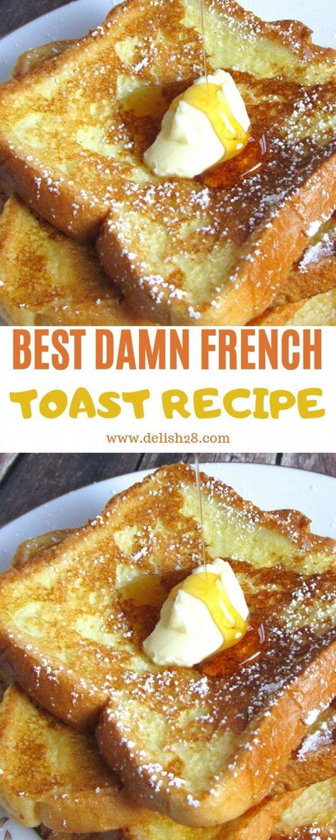 Crockpot French Toast, Oven French Toast, Savoury French Toast, Healthy French Toast, Creme Brulee French Toast, Banana French Toast, Make French Toast, Cinnamon French Toast, Best Cinnamon Toast Recipe