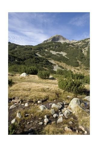 Bulgaria Pirin Mountains Pirin National Park Landscape Giclee Print Landscape National Parks Mountains
