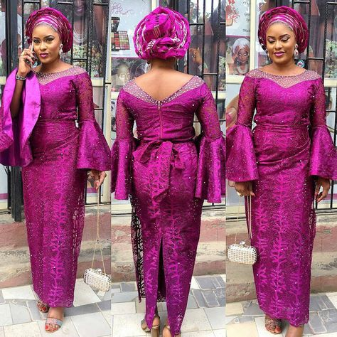 Check out the latest asoebi styles making waves right now. These super trendy African styles are a delight to every fashionista's wardrobe.