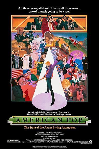 American Pop 1981 Movie Poster Cartaz Filmes Hd 1080p