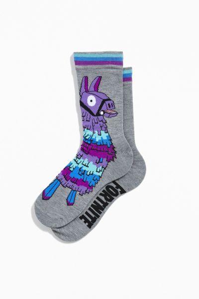 Fortnite Black Shoe Socks Trainers Mens Christmas Gift New