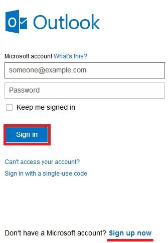 Msn Hotmail Sign In Uk