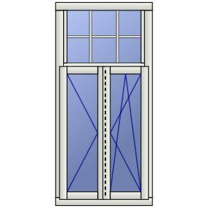 Fresh Holzfenster Bremen zweifl gelig mit festerm Oberlicht und Wiener Sprossen Architektur und Garten Pinterest