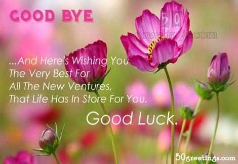Best Wishes Quotes for Farewell Quotes Pinterest Farewell quotes - best wishes in life