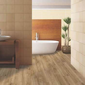 Mohawk Home Sanderling Nest Oak Waterproof Rigid 5mm Thick Luxury Vinyl Plank Flooring 1mm Attached Pad Included In 2020 Vinyl Plank Flooring Luxury Vinyl Plank Flooring Luxury Vinyl Plank
