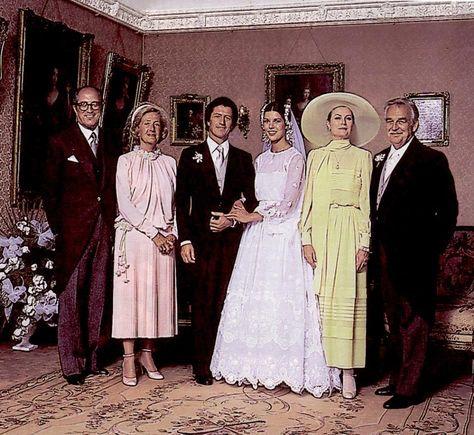 119219fb8 Grace Kelly en la boda de su hija