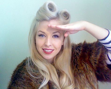 Hair Tutorial: Victory Rolls. Is is wrong that I love victory rolls?