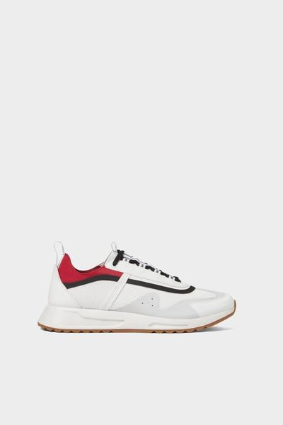 ZARA - Male - White sneakers with trim
