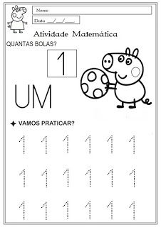 Educacao Infantil Facil Atividades Peppa Pig Com Imagens