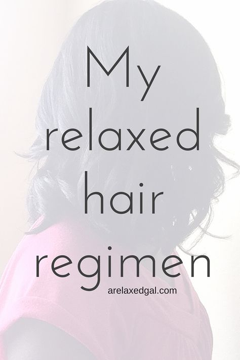 A Relaxed Gal shares the details of her regimen and products she uses on her relaxed hair.   arelaxedgal.com