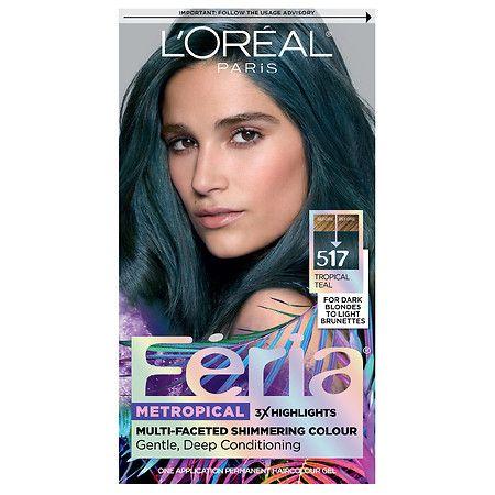 L Oreal Paris Feria Multi Faceted Shimmering Permanent Hair Color