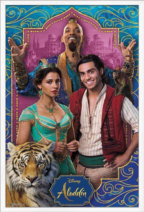 Disney Aladdin - Group Poster
