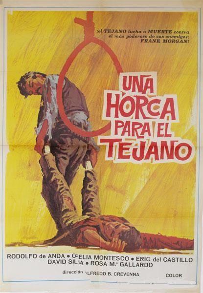 Una Horca Para El Tejano 1969 Esp Tt0282575 C Action Movies Spaghetti Western Comic Book Cover