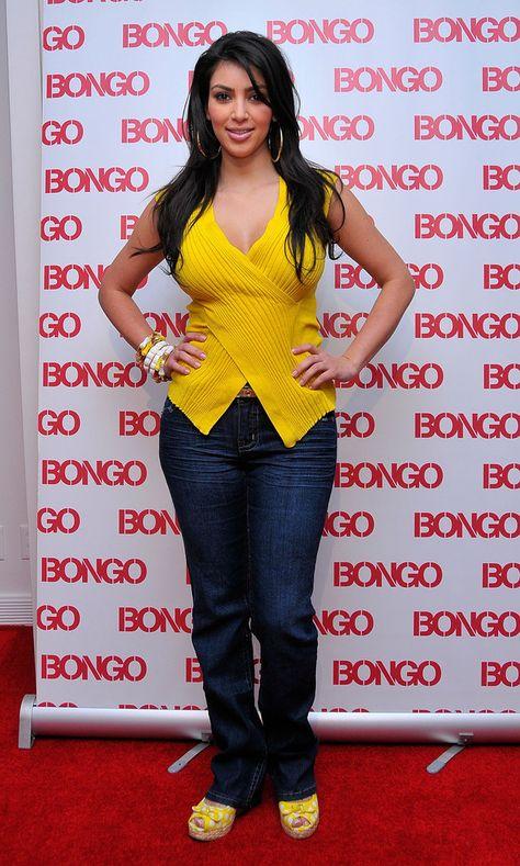 Kim Kardashian Photos - Television personality Kim Kardashian celebrates the launch of the new fall Bongo collection at the L. Fashion Mart on April 2008 in Los Angeles, California. - Kim Kardashian Launches The New Fall Bongo Collection