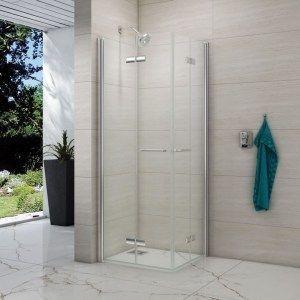 Shower Enclosures Shower Doors Merlyn 8 Series Folding Double Showerwall Wet Room Shower Screen 1000 Wet Room Shower Screens Wet Room Shower Shower Screen