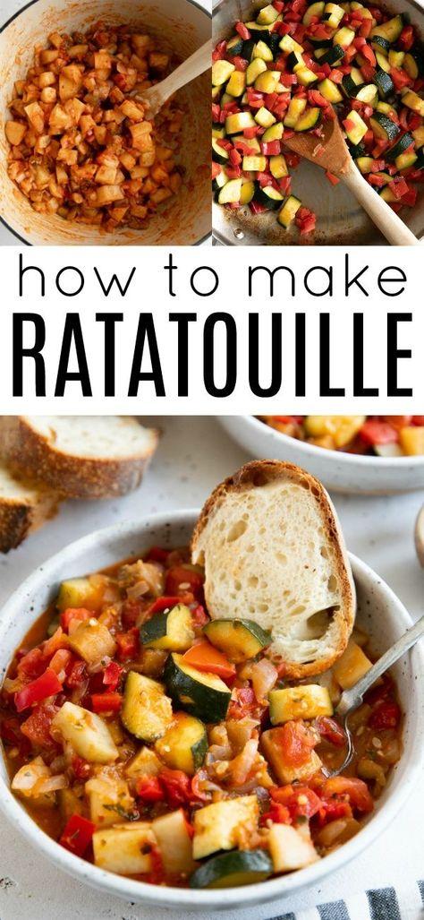Italian Ratatouille Recipe (Ciambotta) #glutenfree #vegetarian #vegan #vegetablestew #vegetablerecipe #ratatouille #ratatouillerecipe #eggplantrecipe via @theforkedspoon