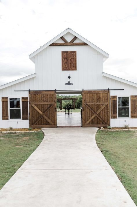 Congratulations to Mr. We adored their spring wedding with their family and friends at Five Oaks Farm in Texas. Their pastel blue derby inspired wedding had it all, love, f… Style At Home, Horse Barn Designs, Barn Wedding Venue, Farm Wedding, Wedding Ideas, Wedding Themes, Wedding Pictures, Wedding Decorations, Pole Barn Homes