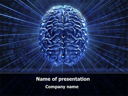 12 best Technology and Science Presentation Themes images on - brain powerpoint template