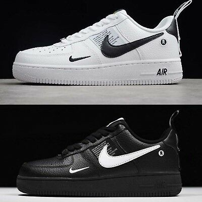 2air force 1 nere e bianche donna