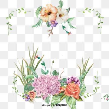 Beautiful Flower Borders Flower Borders Painted Flowers Flowers Png Transparent Image And Clipart For Free Download Flower Border Clipart Flower Border Flower Border Png