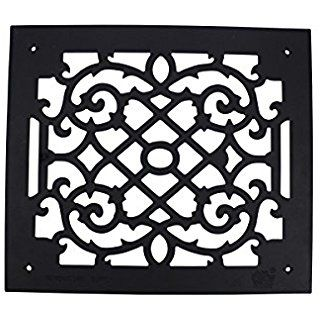 Heat Air Grille Cast Victorian Overall 14 X 16 Renovator S Supply Decorative Grilles It Cast Urethane Resin