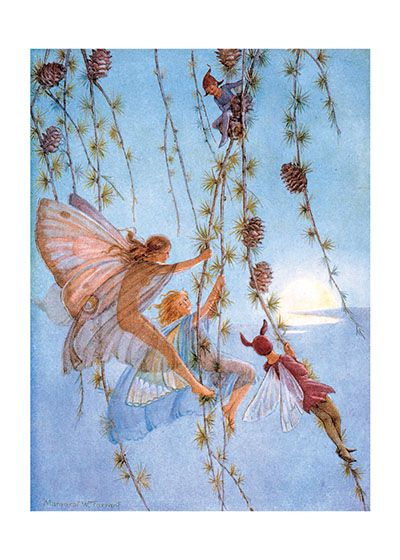 9fd677732fc89 The Fairies Playing Among the Flowers in 2019 | Greeting cards ...