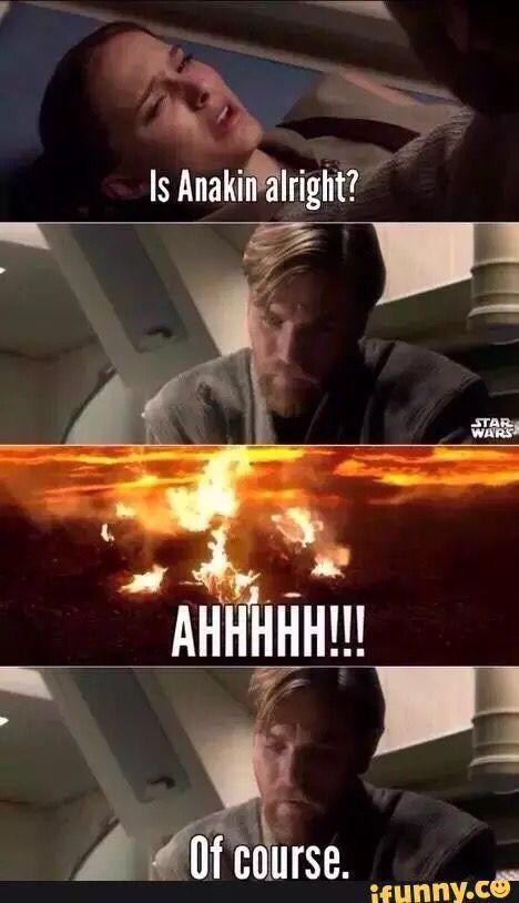 19 Best Star Wars Memes And Jokes Star Wars Funny Funny Star Wars Meme Starwars Funny Starwarsfunny Star Wars Witze Star Wars Lustig Star Wars Trivia