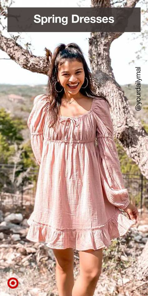 Treat yourself to a new spring wardrobe. Check out 2021 fashion trends, spring outfit ideas  casual dresses that celebrate the cottagecore aesthetic.