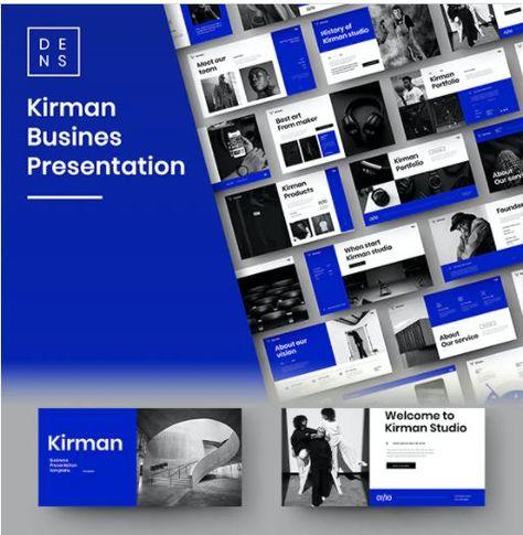 Kirman – Business PowerPoint Template