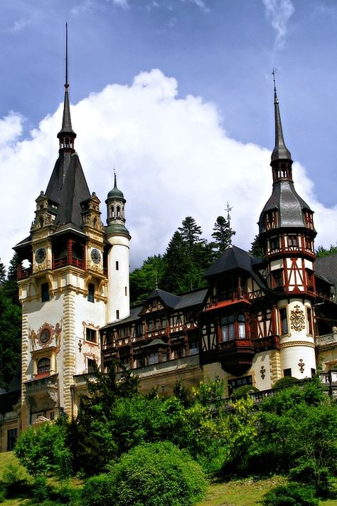 Peles Palace - Sinaia, Prahova - Romania. One of the most beautiful in Europe