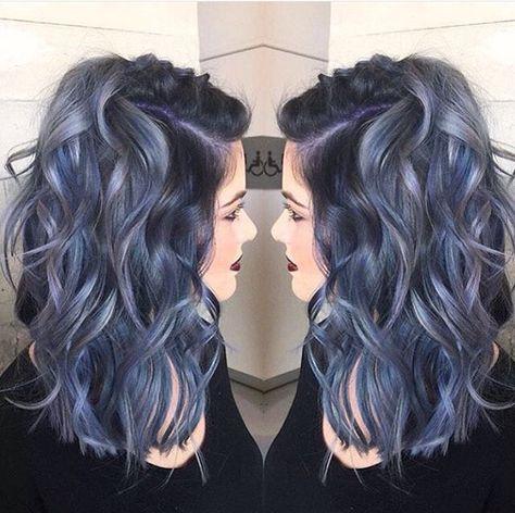 1000 ideas about blue grey hair on pinterest blue gray