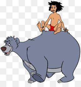 The Jungle Book Baloo Mowgli Clip Art Jungle Vector Png Download 400 710 Free Transparent Jungle B Jungle Book Walt Disney Animation Studios Book Drawing