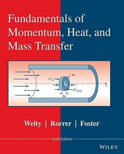 Download Pdf Fundamentals Of Momentum Heat And Mass Transfer
