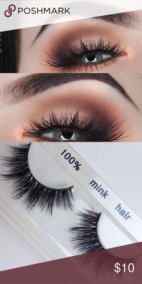 806c01f8569 3D mink eyelashes •Brand new mink lashes (no brand) •100% real