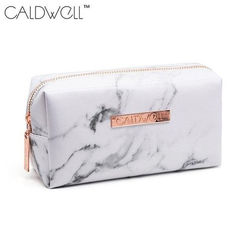 d7c089125d53 Marble Cosmetic Bag | Products | Cosmetic bag, Bags, Cosmetic case