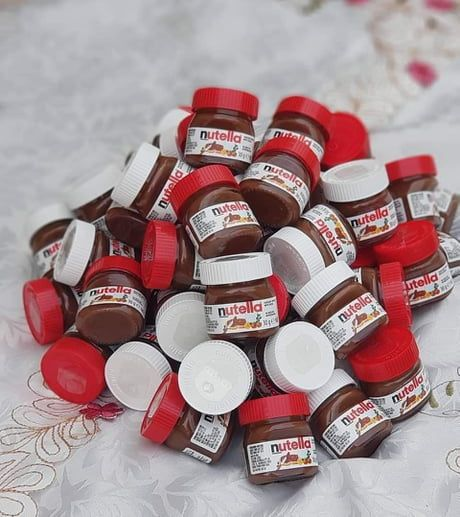 Target Is Selling Mini Nutella Jars That Double As Christmas Ornaments For 1 Mini Nutella Nutella Jar Nutella