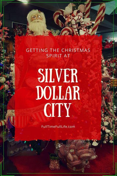 christmasspirit #SilverDollarCity #Christmas...