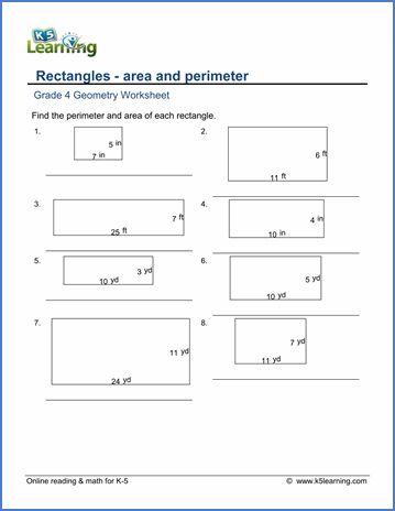Grade 4 Math Worksheets Perimeter Perimeter Worksheets Area And Perimeter Area And Perimeter Worksheets Free grade math worksheets area and