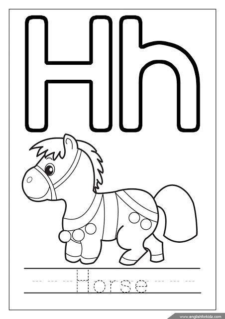 Letter H Coloring Page Alphabet Coloring Pages Letter A Coloring Pages Alphabet Coloring