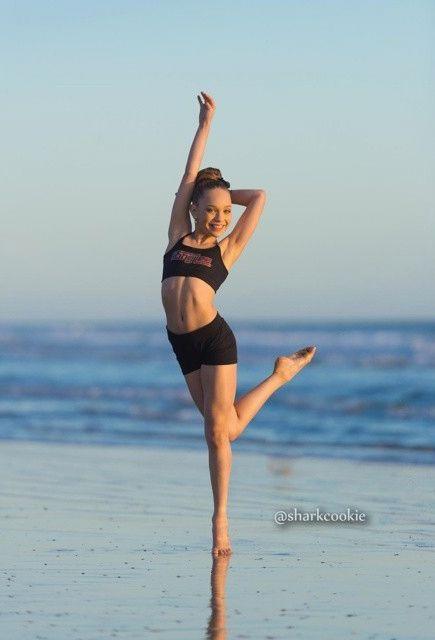 Dance Moms Maddie Sharkcookie photo shoot