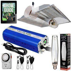 Yield Lab 1000w Hps Cool Tube Hood Reflector Grow Light Kit Hps Grow Lights Grow Lights Hydroponics