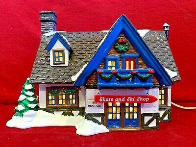 Department 56 Snow Village 54674 Skate /& Ski Shop