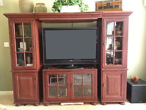 Broyhill Attic Heirlooms Oak Entertainment Center With Sony WEGA TV | New  Home Decor :) | Pinterest | Oak Entertainment Center, Attic And Furniture  Sets