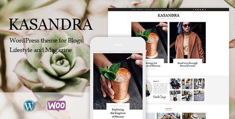 Kasandra - A Responsive WordPress Blog and Shop Theme