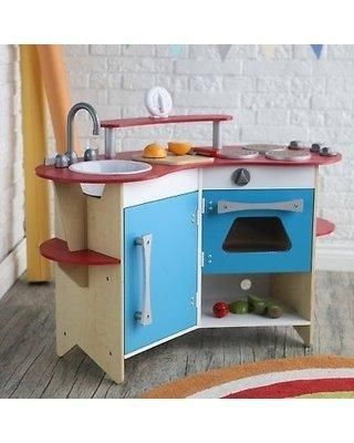 Melissa-and-Doug-Cook\'s-Corner-Wooden-Kitchen---3950 ...
