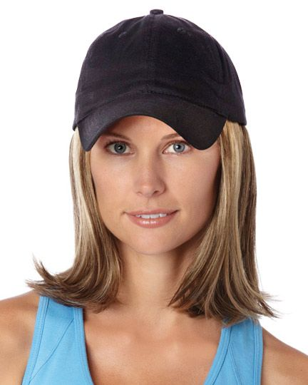Henry Margu Wigs Hats With Hair Classic Hat Black In 2021 Hat Hairstyles Hair Pieces Hair Cancer