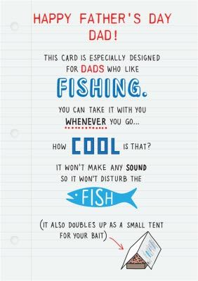 This Father S Day Card Is Designed For Dad S Who Like Fishing Sponse Ad Sponsore Brochure Design Template Photoshop Tutorial Design Resume Design Template